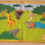 """Safari-World"" - Tierfiguren aus Stoff, alle Teile herausnehmbar 32,00 EUR"