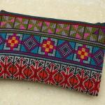 Kosmetik-Tasche, gestickt In vielen Farben erhältlich Art. D03 9,50 EUR